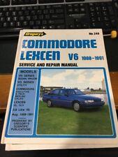 COMMODORE LEXCEN  V6 1988-1991 service repair  HB