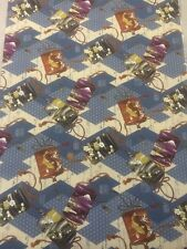 100% Cotton Quilting craft Fabric Blue Gold Chinese Oriental Kona Bay