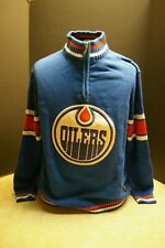 OFFICIAL LICENSED ILANCO NHL EDMONTON OILERS HOCKEY SWEATER SIZE XL 100% COTTON