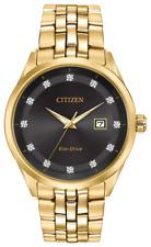 Men's Citizen Corso Gold Tone Steel Crystallizd 41mm Watch Bm7252-51g