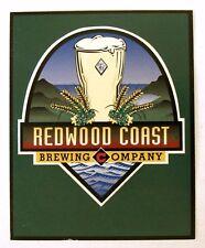 Redwood Coast Brewing BLANK beer label table display advert insert