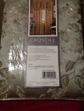 Croscill WILLOWBROOK FLORAL (Sage)  Panels New (5) available sold separately