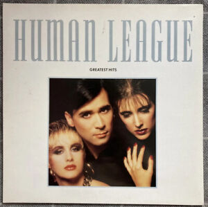 HUMAN LEAGUE GREATEST HITS LP 1988 VIRGIN HLTV1 A1 PRESS EX/VG+