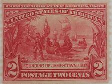 1907 2¢ Founding of Jamestown Commemorative U.S. Stamp