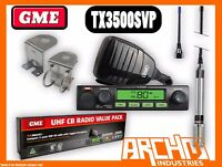 GME TX3500SVP UHF CB RADIO- 80CH 5 WATT DSP ANTENNA COMPACT VALUE PACK