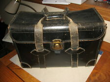 Vintage 1940s Traveling Salesman's Leather Carrying Case For Product Samples