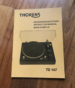 02 Thorens Manual TD 147