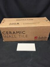 "Daltile Dimensions Matte Architectural Gray Case Lot 100 Subway Tiles 0709 6""x3"""