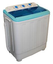 Waschmaschine 4,6 kg mit Schleuder + Pumpe Miniwaschmaschine Toplader Neu