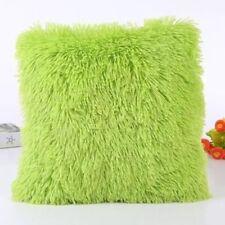 Throw Home Decoration Soft Fur Fluffy Sofa Pillow Plush Luxury Cushion Cover