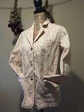 "Woman's Size Medium Cotton Stretch Jacket By ""Lizwear Jeans"""