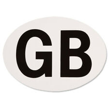 GB Sticker Oval European EU Road Legal Vinyl Car Badge