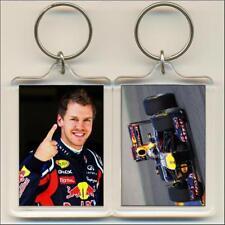 F1 Champions. 2011 Sebastian Vettel. Keyring / Bag Tag.