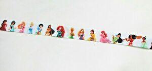Beautiful 14 Disney Princesses  ribbon 25mm (1 meter) for cakes, crafts & bows