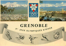 Carte GRENOBLE Xes Jeux Olympiques d'Hiver
