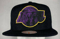 Mitchell and Ness NBA Los Angeles Look Out Snapback Hat, Cap, New