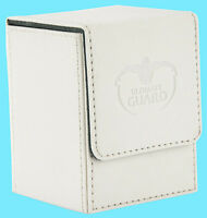 ULTIMATE GUARD XENOSKIN FLIP DECK CASE Standard Size WHITE 100+ Game Card Box