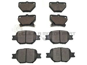 FRONT & REAR BRAKE DISC PADS FOR TOYOTA CELICA 1.8 VVTi GT T-SPORT 2000-2006