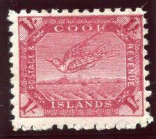 Cook Islands 1900 QV 1s deep carmine MLH. SG 20a. Sc 24.