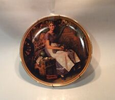 norman rockwell plates knowles