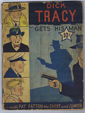 Dick Tracy Large Feature Comic #4 Dell 1939