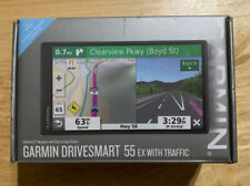"Garmin DriveSmart 55 EX with Traffic GPS Navigator 5.5"" 010-02037-09 NewOpen Box"