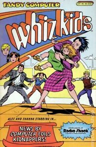 Whiz Kids Radio Shack Giveaway 1A VG 1986 Stock Image Low Grade