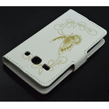 Book Flip Phone Leather Wallet Case Cover Stand For Samsung Galaxy Mobile Phone