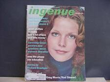 Vintage February 1972 Issue INGENUE Magazine For Today's Teen-agers