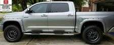 NEW TOYOTA TUNDRA 14-20 SILVER CODE 1D6 POCKET FENDER FLARES BLACK RIVETS 4 PC