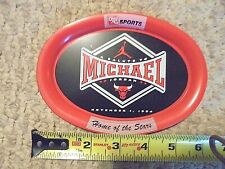"MICHAEL JORDAN-A SALUTE TO MICHAEL JORDAN-NOVEMBER 1,1994-VINTAGE 6"" METAL PLATE"