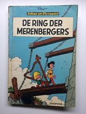 Johan en Pirrewiet 11 - De ring der Merenbergers - 1e druk (1962)