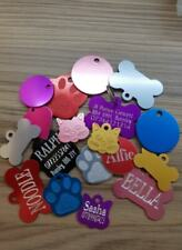 Personalised Pet Id Tags Cat Dog Puppy Kitten identity tags engraved