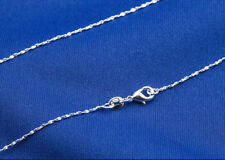 1PCS 22inch 925 Silver Star Chain Pendant Necklace Accessories Jewelry Necklace