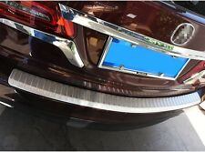 stainless steel rear door plate bumper cover sill bar HONDA Acura MDX 2014-2017