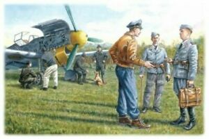 ICM 1:48 scale kit  - German Luftwaffe Ground Personnel (1939-1945) 	 ICM48085