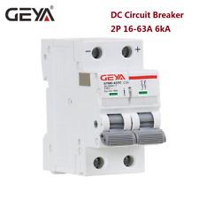 Pv Solar Dc Mcb 6Ka 2P 500V Mini Circuit Breaker 6A 10A 16A 25A 32A 40A 50A 63A