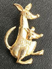 Vintage Kangaroo Brooch Pin