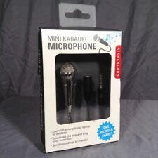 NEW Kikkerland Mini Karaoke Microphone for smartphone, laptop, or desktop