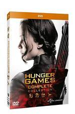 Dvd Hunger Games - Saga Completa (4 Dvd con oltre 7 ore di Contenuti Speciali)