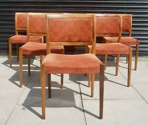 6x vintage Rosewood 1970s Troeds mid-century dining chairs by Nils Jonsson