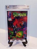 Spawn #1 PGX 9.4 (Not CGC) Image Comics 1992