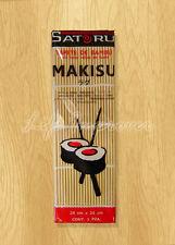 Set Table Tapis Style Rouleau Préparation Sushi Japonais Bambou