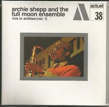 Live in Antibes vol.1 Archie & Full Moon Ensemble Shepp [CD PAPERSLEEVE] NUOVO!