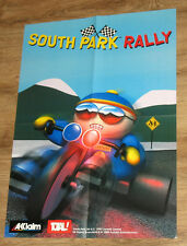 1999 South Park Rally & Armorines: Project S.W.A.R.M.  very rare  Poster 41x58cm