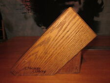 chicago cutlery block hardwood with 5 slots