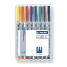 Staedtler ä. non-permanent superfine universel marqueur stylos de bureau lot de 8