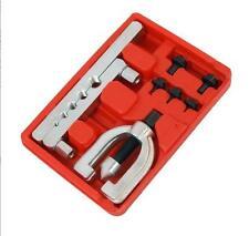 """7PC Neilsen Double Pipe Flaring Tool Kit Mechanic Brake 3/16 1/4 5/16 3/8 & 1/2"""""""