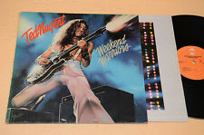 TED NUGENT LP WEEKEND WARRIORS 1°ST ORIG OLANDA 1978 EX-