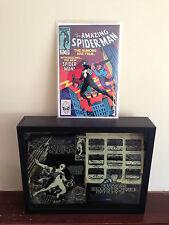 Amazing Spider-Man 252 Cover Printing Plate 1st Black Costume Secret Wars Movie!
